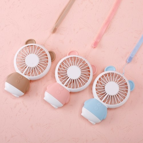 Mini Handheld Cute and Adorable Fan USB Rechargeable