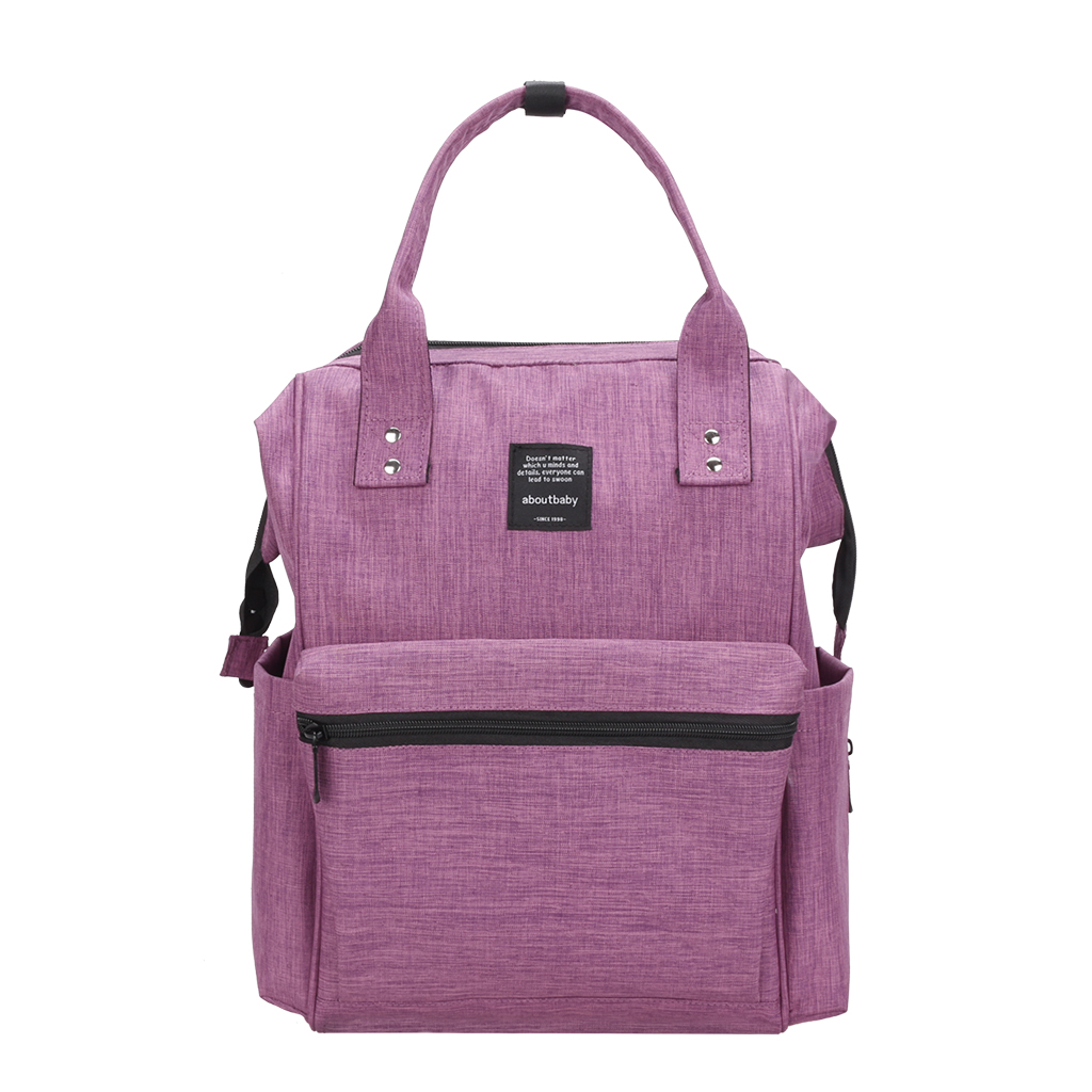Fashionable Practical Large Capacity Diaper Bag Backpack