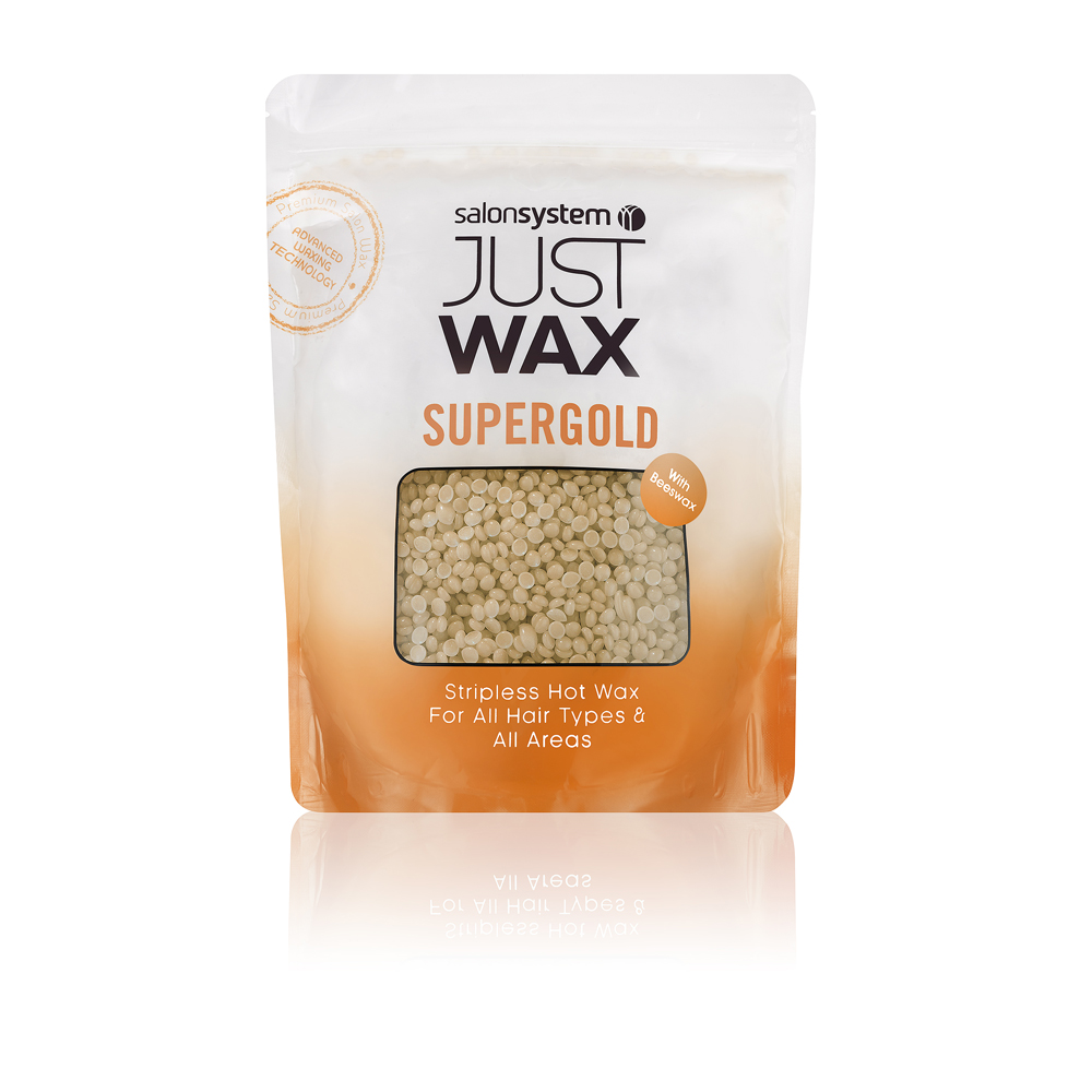 Just Wax Stripless Supergold Hotwax  700g