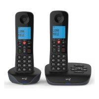 ESSENTIAL-TWIN Essential Cordless Phone 2 Handsets