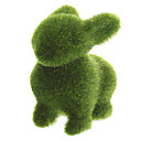 Grass Land Handmade Animal Rabbit with Artificial Turf