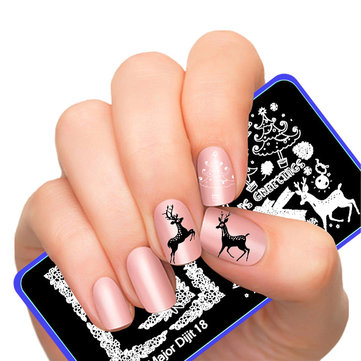 Nail Plate Stamp Image
