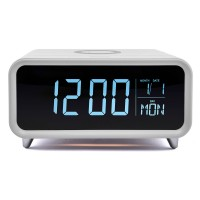 ATHENA-WT Alarm Clock with Wireless Charger