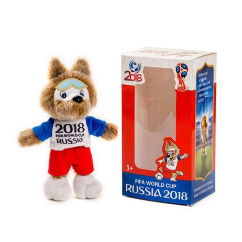 20CM Zabivaka Mascot of FIFA World Cup 2018 Stuffed Plush Toy Gift for Football Lovers