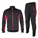 Arsuxeo Men's Fleece Winter Thermal Bicycle Cycling Suits Windproof Jacket