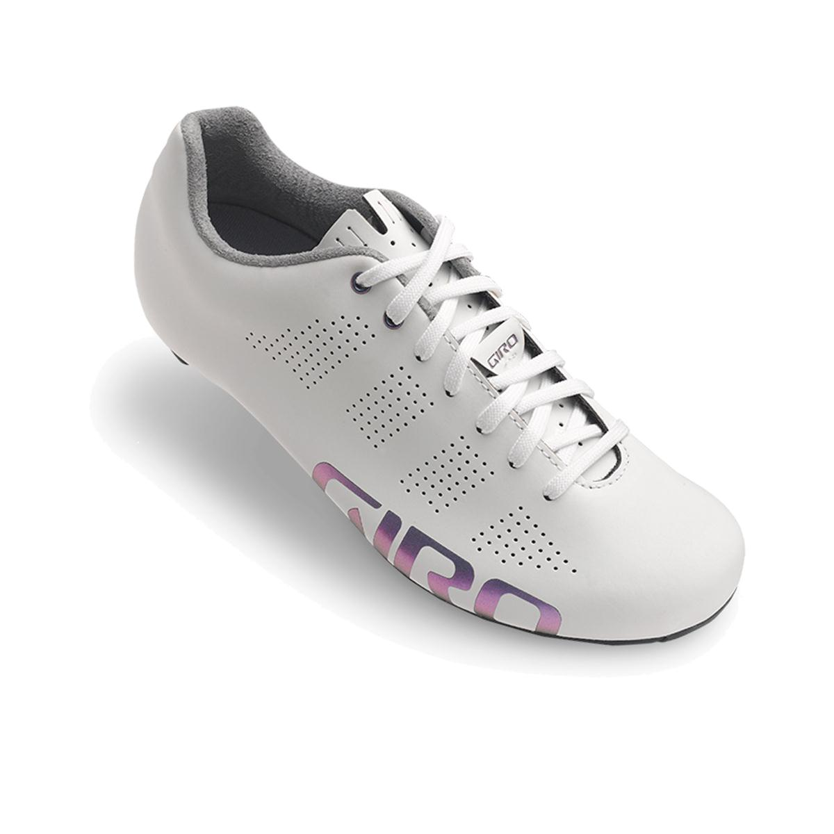 GIRO Empire Womens Road Cycling Shoes 2018 White Reflective 42