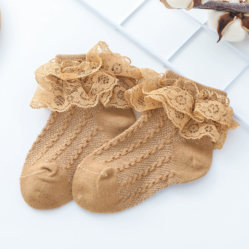 Baby / Toddler Sweet Knitted Lace Socks