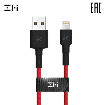 Cable ZMI AL803 Lightning USB-A cable for smartphone 100 cm For Apple iPod/iPhone/iPad delivery from Russia