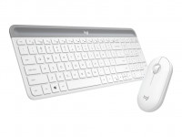 Logitech Slim Wireless Combo MK470 - Tastatur-und-Maus-Set