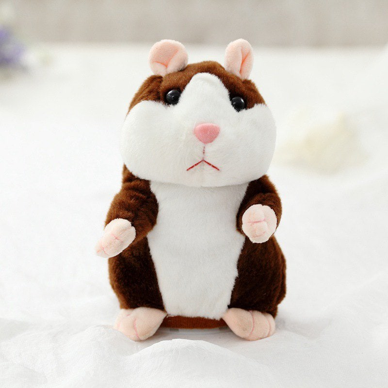 Electric Talking Recording Hamster Doll Plush Toy