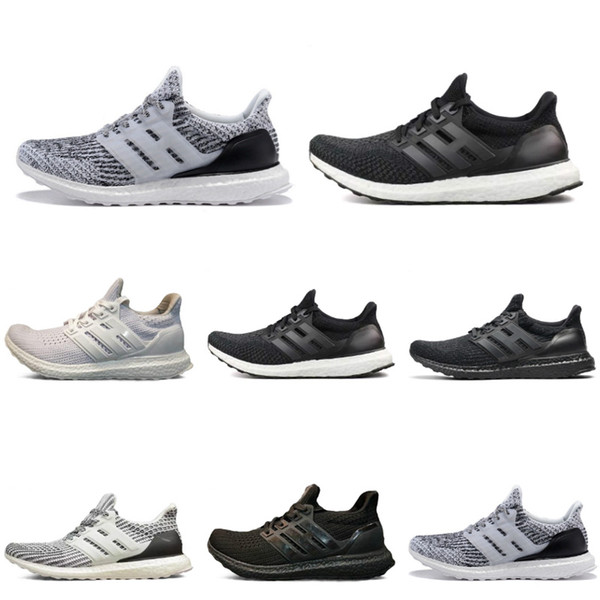 2018 new 3.0 4.0 running shoes men women 3 iii white black athletic shoes size 36-45