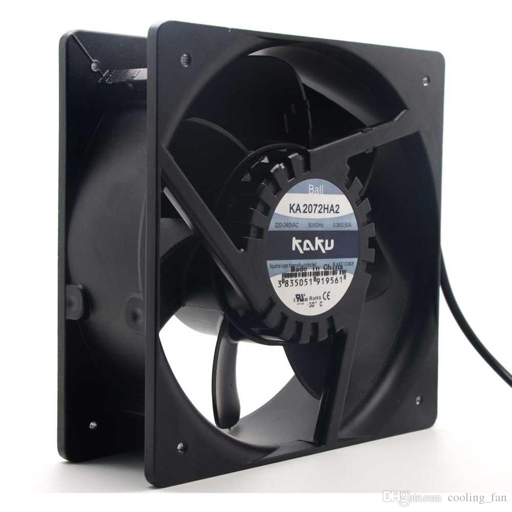Kaku card solid KA2072HA2 AC220V 20.8CM cm all-metal high temperature axial waterproof fan