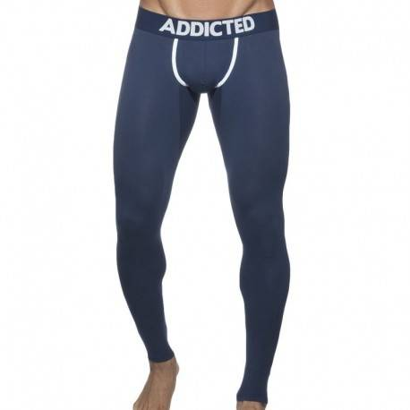 Addicted Long John - Navy XL
