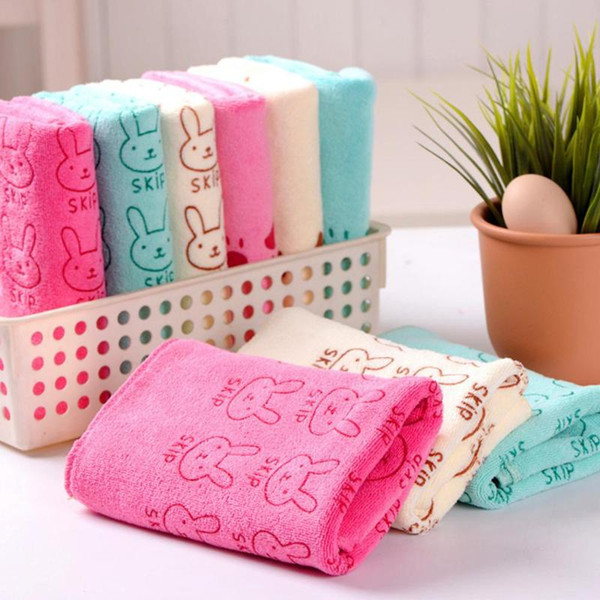 25*50cm microfiber saliva towel for babies things for the newborn kids face hand towel small handkerchief children