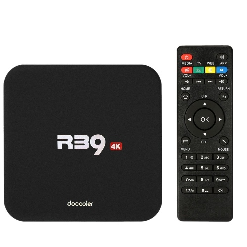 docooler R39 Android TV Box 2GB / 16GB 4K 60fps Supported