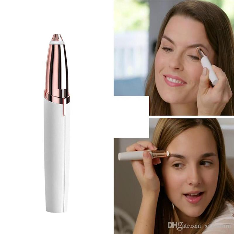 Brows Hair Electric Remover Best Eyebrow Trimmer Painless Hair Remover with Retail Box