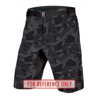ENDURA Hummvee Short II with liner GreyCamo-M