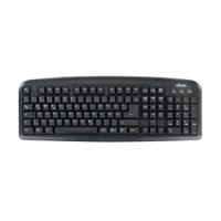 Ultron UMT-400 Basic II - Tastatur - USB - Schwarz - Deutsch (76801)