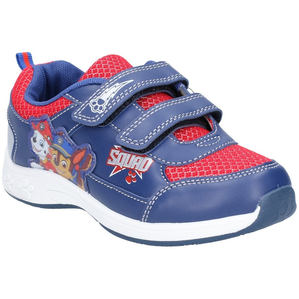 Leomil Boys Paw Patrol Lightweight Light Up Fashion Trainers UK Size 11.5 (EU 30)