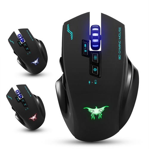 combatwing 2.4G 2400 DPI Optical Wireless Gaming Mouse