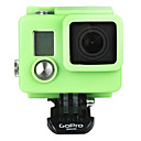 Funda de Silicona para GoPro HD Hero 3/3 Plus-Green