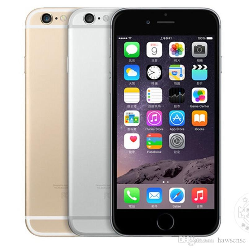 Refurbished Original Apple iPhone 6 Plus With Fingerprint 5.5 inch A8 Chipset 1GB RAM 16/64/128GB ROM IOS 8.0MP Unlocked LTE 4G Phone 1pcs