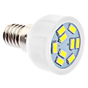 E14 3W 9xSMD5630 240-270LM 5500-6500K Natural White Light LED Spot Bulb (220-240V)