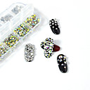 1 pcs Mini Style / Multi-Type Crystal / Rhinestone Nail Jewelry Rhinestones For Finger Nail Beauty Shop 3D nail art Manicure Pedicure Daily Artistic / Fashion