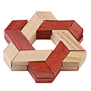 Wooden Triangle Lock IQ Puzzle Cube