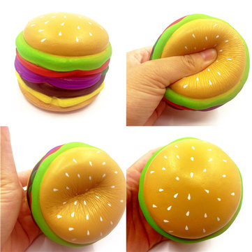 SquishyShop Hamburger Squishy 8cm Slow Rising With Packaging Collection Gift Decor Soft Toy