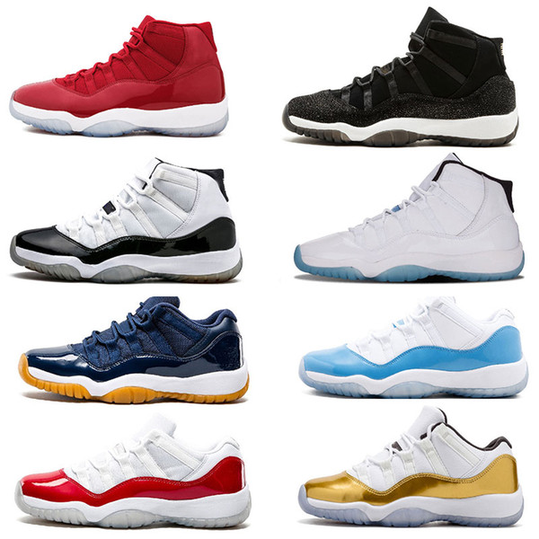 2018 basketball shoes 11 xi gym red chicago white men basketball shoes win like 96 82 women sports sneakers new trainers size 5-13
