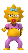 Maggie Simpson in Pink Jumpsuit Figure from The Simpsons