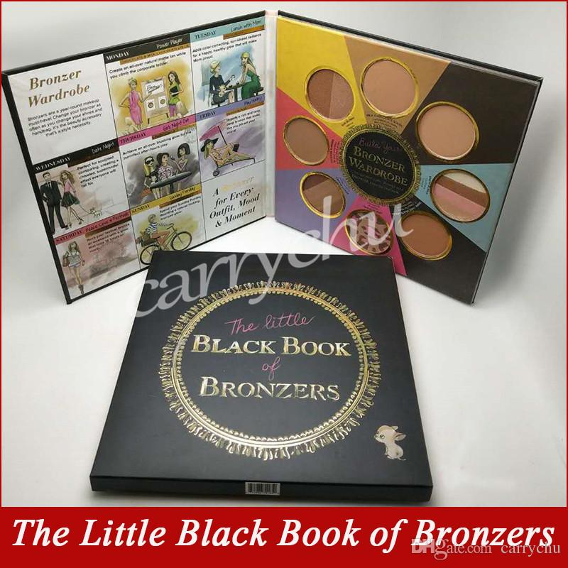 New Faced Makeup 8 Colors the Little Black Book of Bronzers Blush Cheek Face Powder Palette Highlighters Contour Palette
