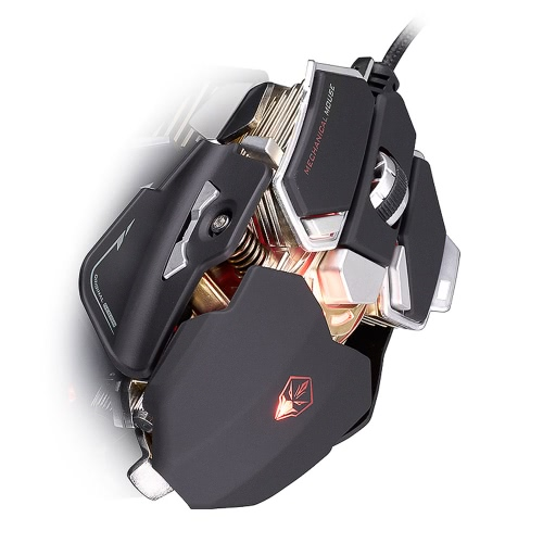 LUOM G10 USB Wired Gamer Professional Macros Mouse