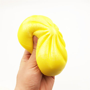 Steamed Bun Squishy 15cm Slow Rising Scented Food Collection Decor Toy