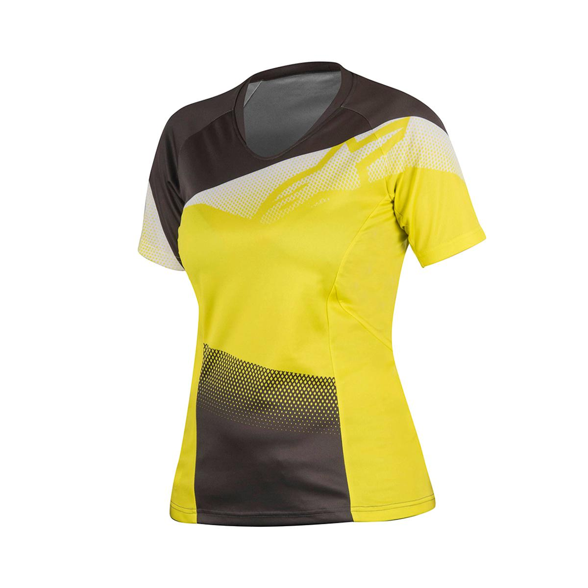 ALPINESTARS Stella Mesa Short Sleeve Jersey Acid Yellow/Dark Shadow S
