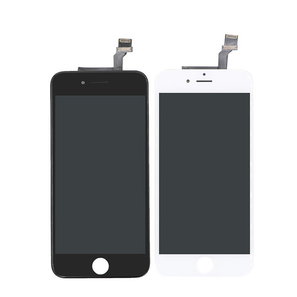 grade a +++ lcd display touch digitizer for iphone 6 screen frame full assembly replacement for iphone 6