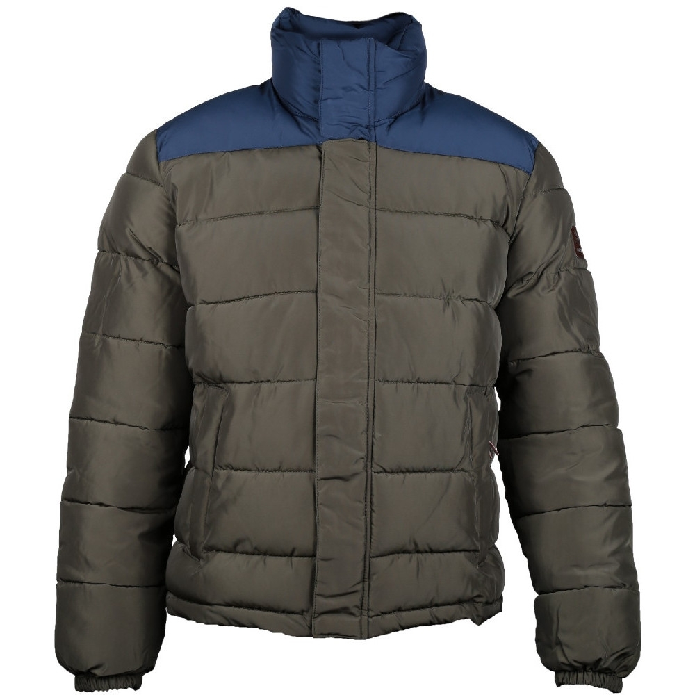 Caterpillar Mens Station Insulated Contrast Padded Bomber Jacket Coat XL - Chest 44-46' (111-116cm)