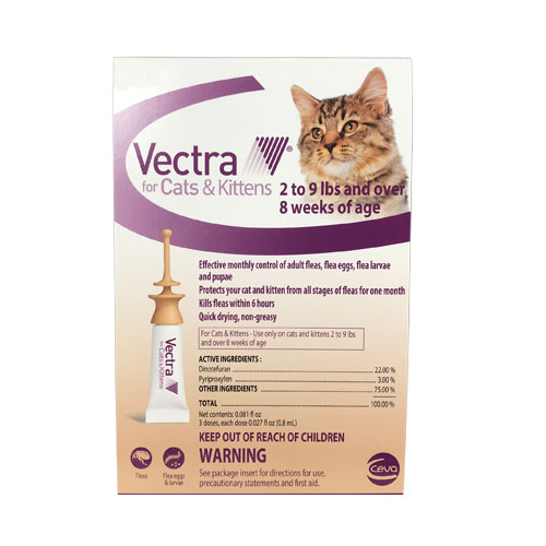Vectra For Cats 12 Doses