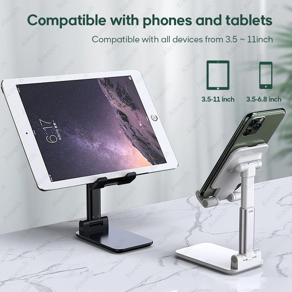 desktablet stand for ipad pro 11 2020 10.5 air 3 10.2 mini adjustable foldable soporte tablet holder for ipad stand